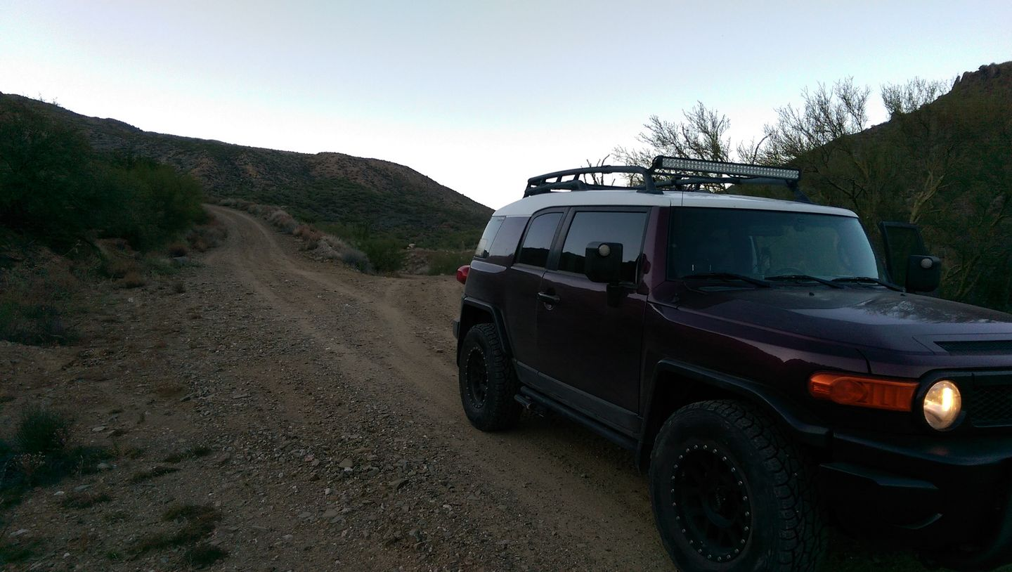 Black Canyon OHV Trail - Waypoint 18: Staging Areas Intersection