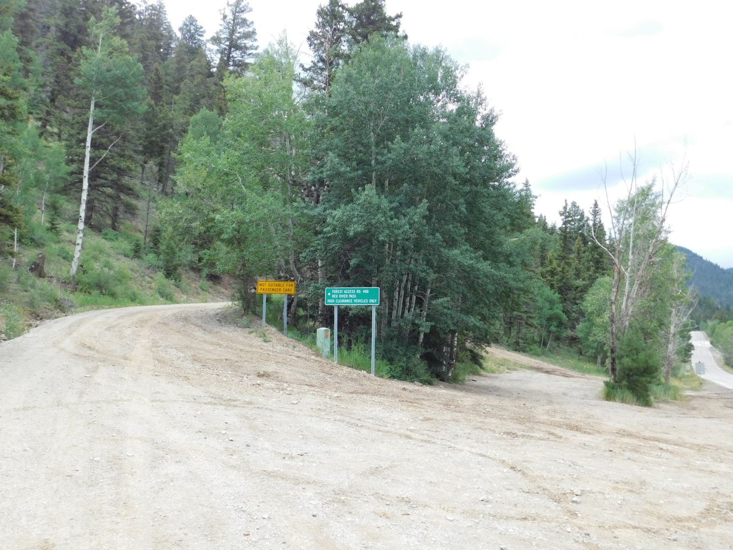 Old Red River Pass - Waypoint 1: Trailhead