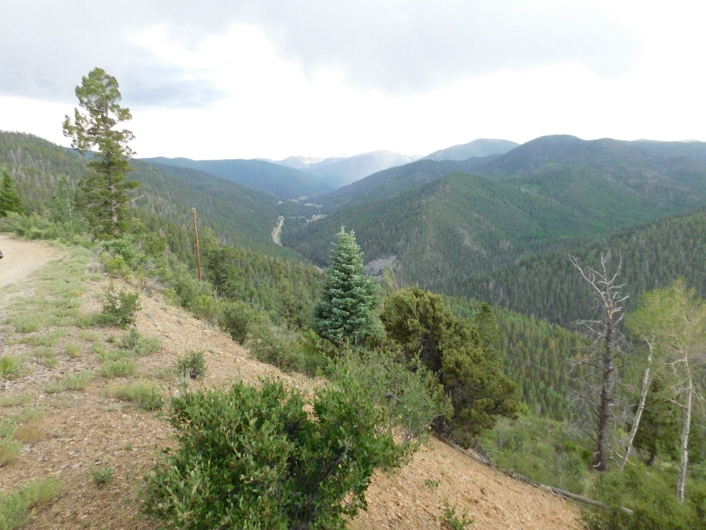 Old Red River Pass - Waypoint 2: Top of Switchbacks