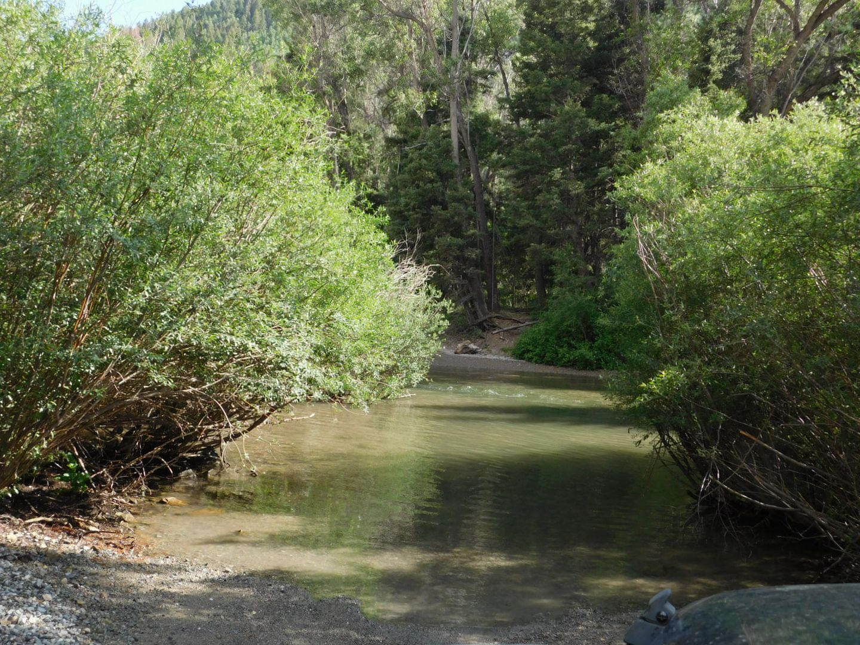 Goose Lake - Waypoint 2: Trailhead River Crossing