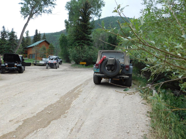 Goose Lake - Waypoint 1: Parking