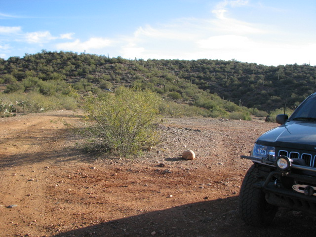 Camping: Black Canyon Creek, Arizona