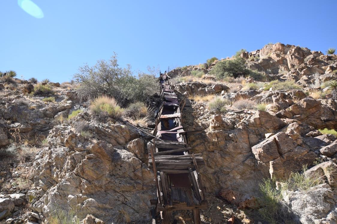 Nelson Goldmine Trail - Waypoint 14: Scenic Views/Mining Equipment