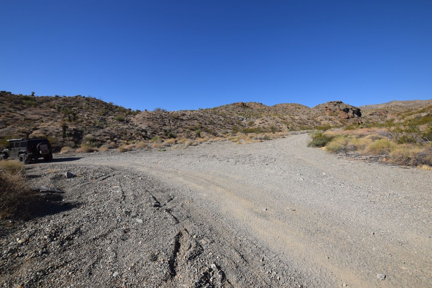 Nelson Goldmine Trail - Waypoint 2: Y Intersection