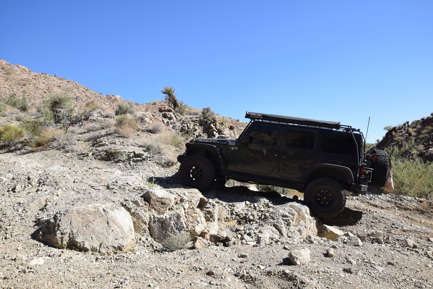 Nelson Goldmine Trail - Waypoint 6: Rock Obstacle with 3' Step