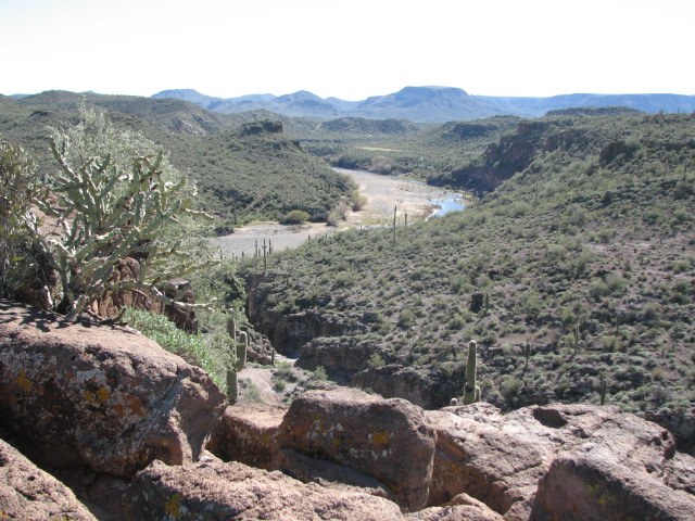 Indian Fort, Table Mesa Recreation area, Arizona - Waypoint 4: Indian Fort