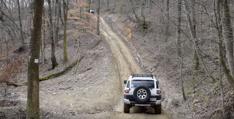 Windrock Trail 22 - Waypoint 3: Steep Grade