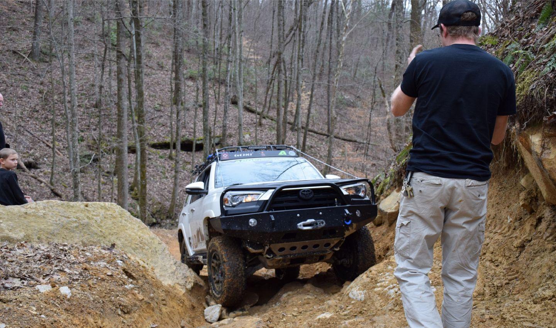 Windrock Trail 22 - Waypoint 7: Big Rock