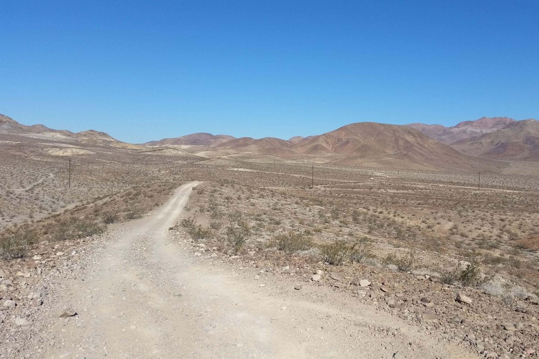 Mule Canyon - Waypoint 7: Sunrise Canyon Road