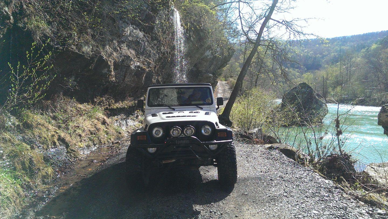 Carwash Falls - Waypoint 7: Carwash Falls