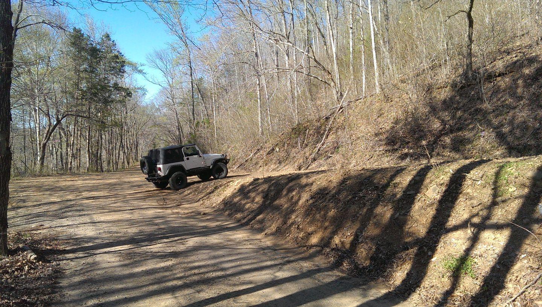 Carwash Falls - Waypoint 10: Parker Ridge Road