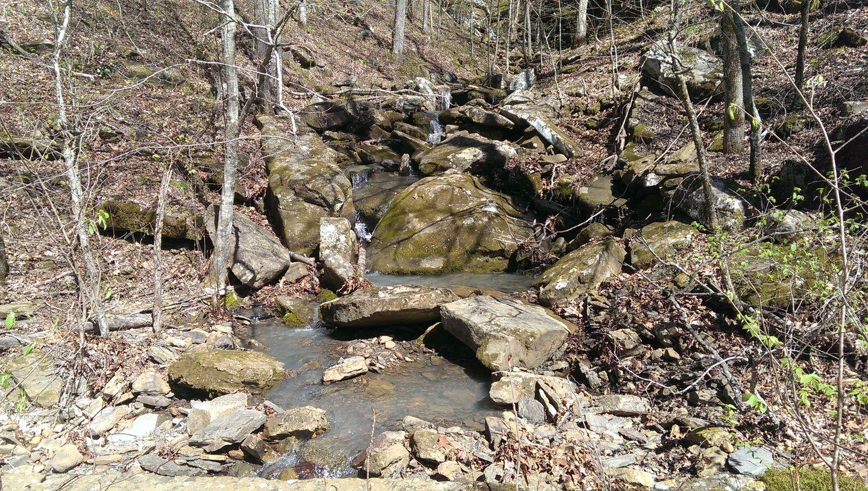Carwash Falls - Waypoint 2: Small Waterfall