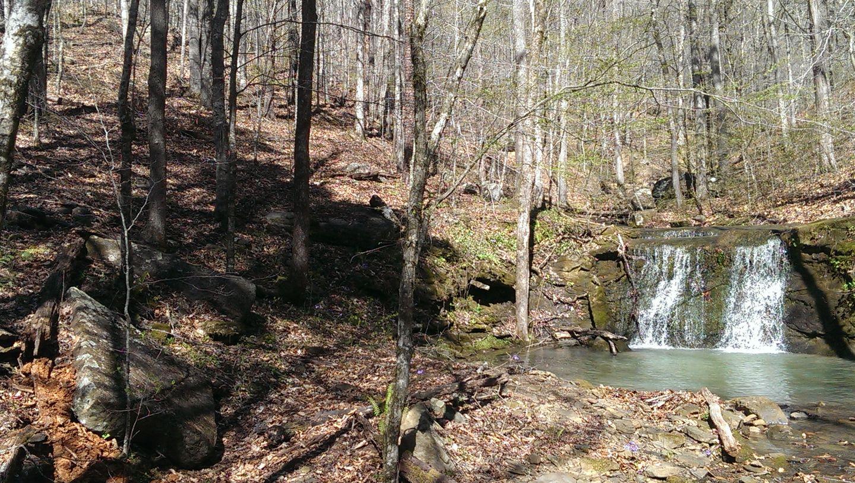 Carwash Falls - Waypoint 3: 2nd Waterfall