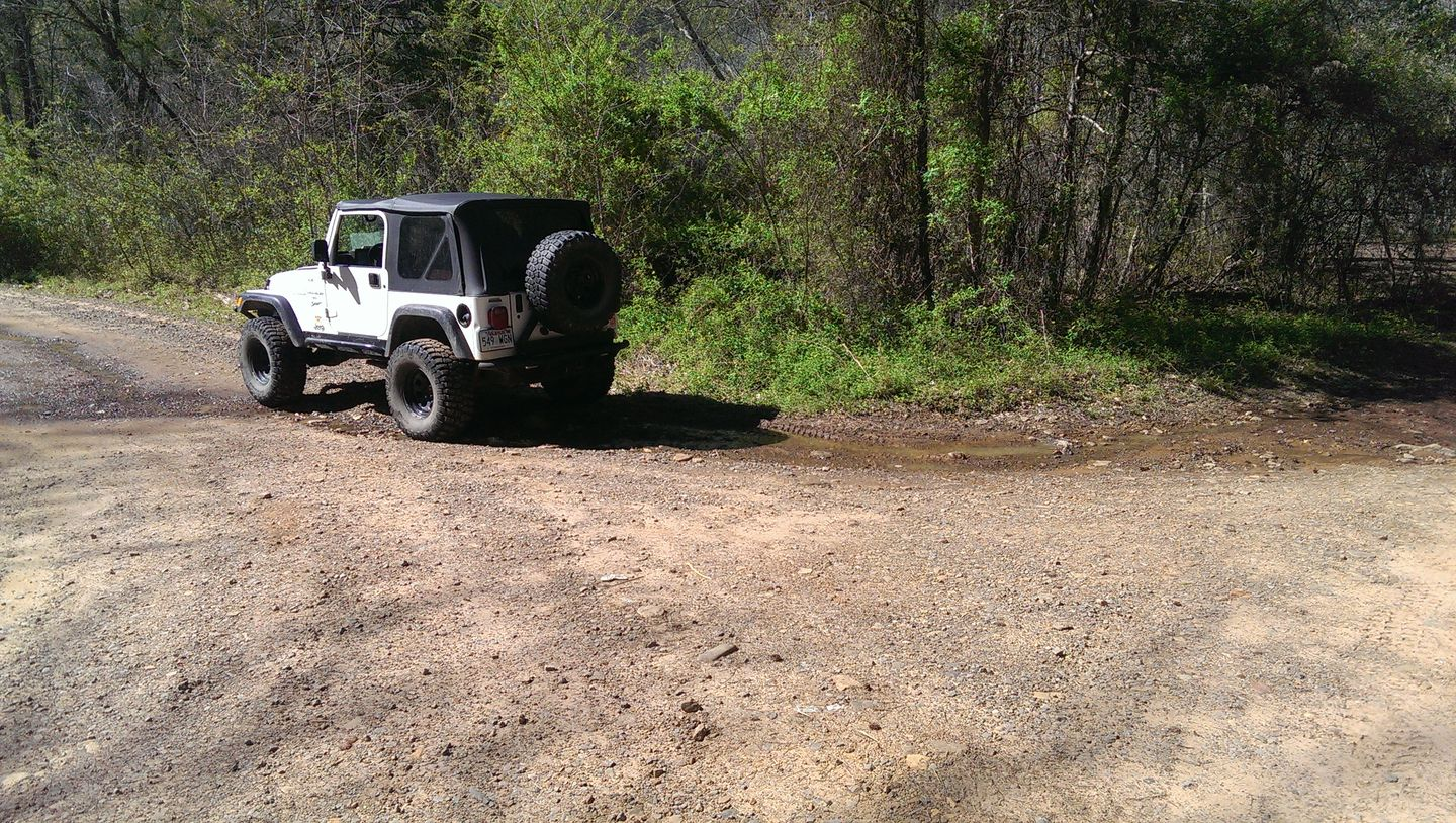 Carwash Falls - Waypoint 4: Stay Left At Campsite
