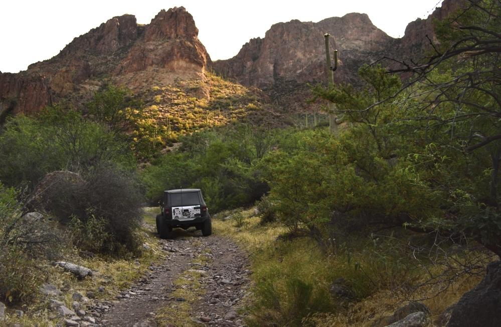 Highlight: Millsite Canyon Trail Arizona