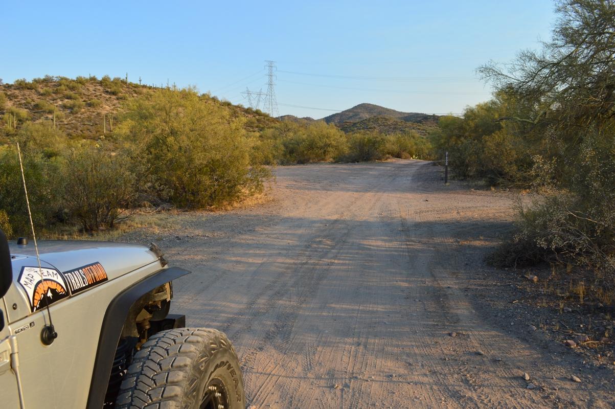 Millsite Canyon Trail Arizona - Waypoint 1: TRAILHEAD FR1900