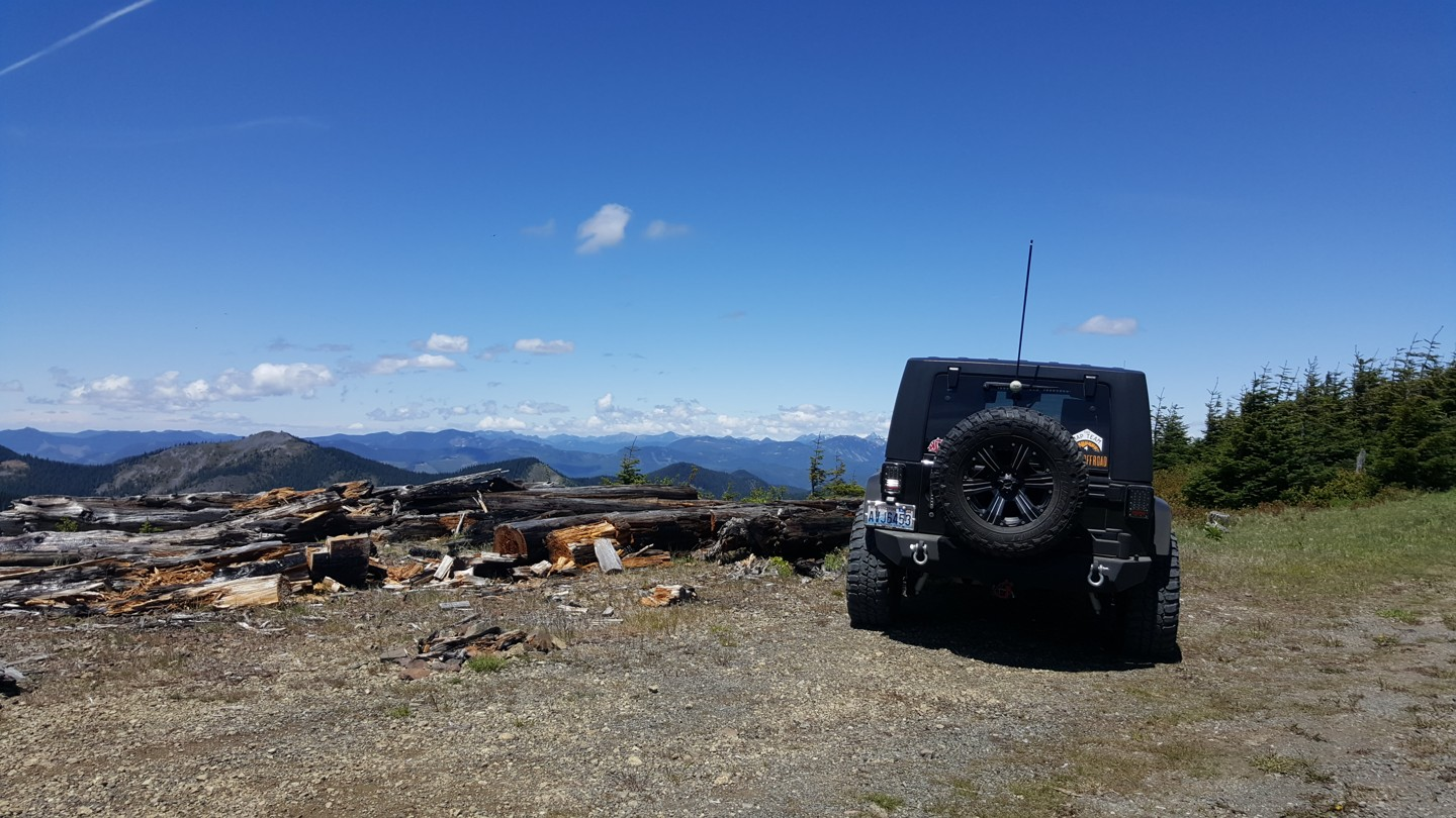 NF-7030 to Stampede Pass - Waypoint 9: Scenic Vista