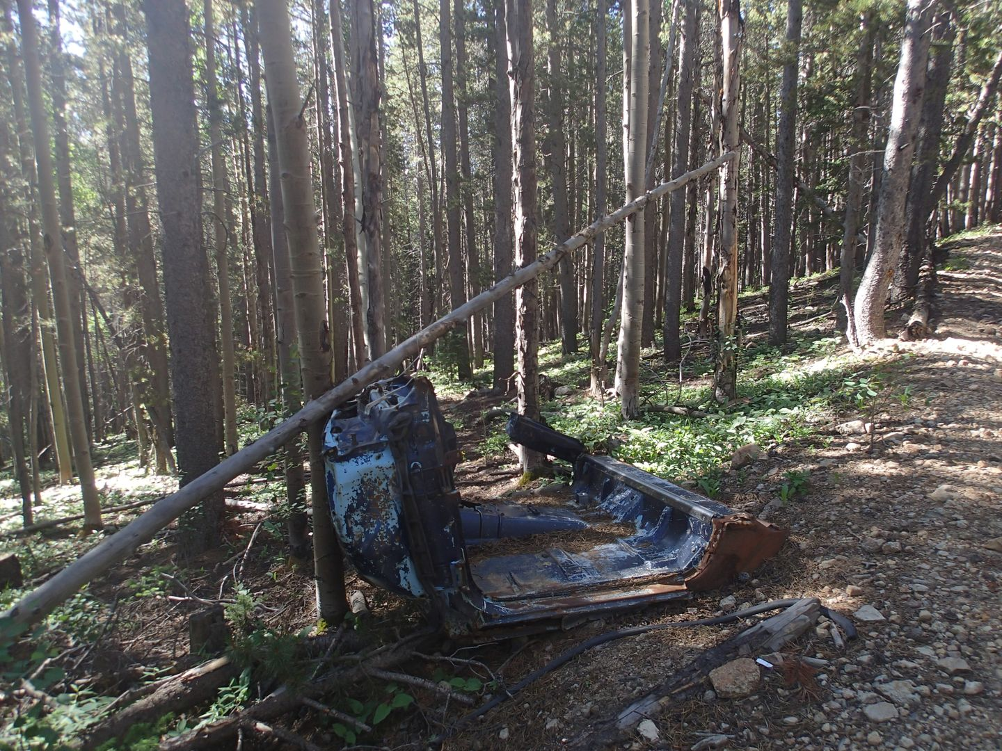 Miller Creek - Waypoint 2: Wreckage