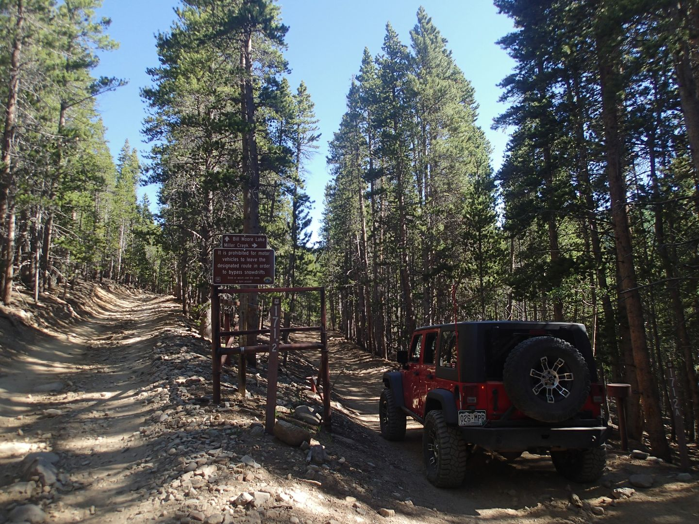 Miller Creek - Waypoint 1: Trailhead