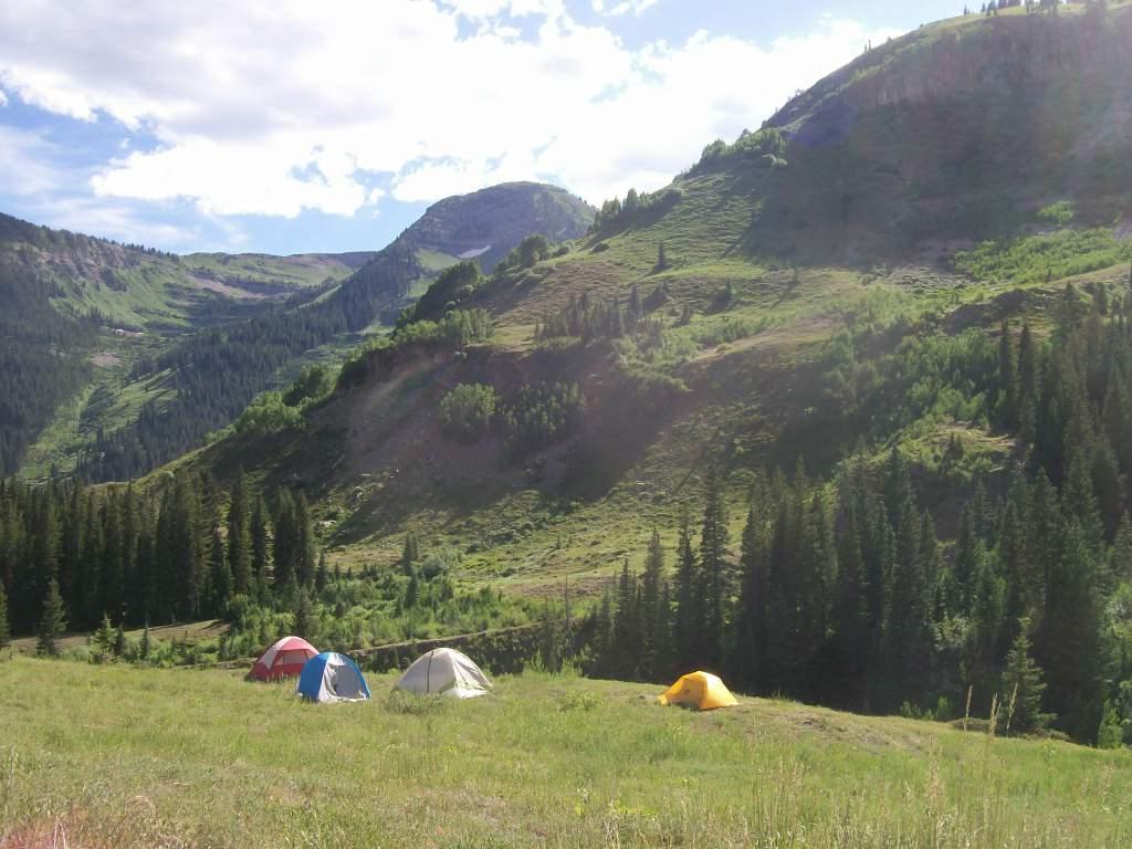 Camping: Schofield Pass