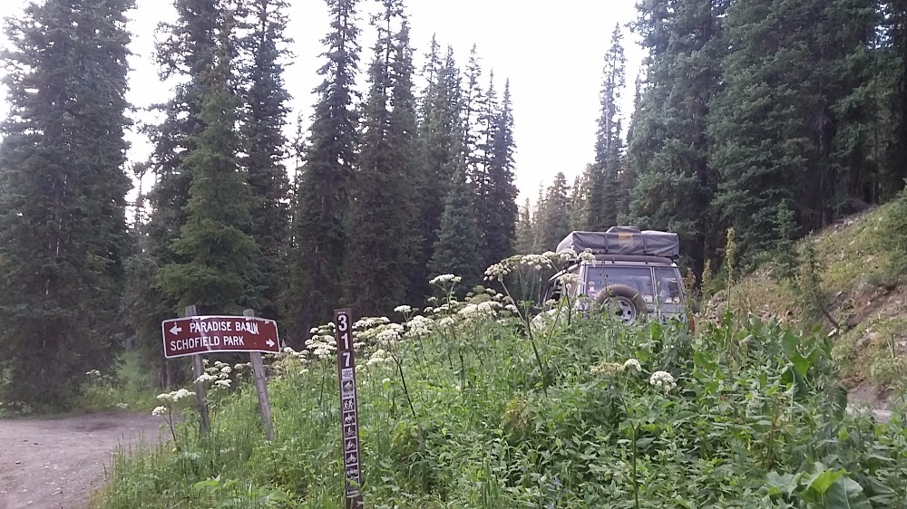 Trail Review: Schofield Pass