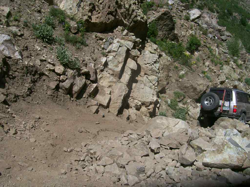Schofield Pass - Waypoint 5: Rock Obstacle