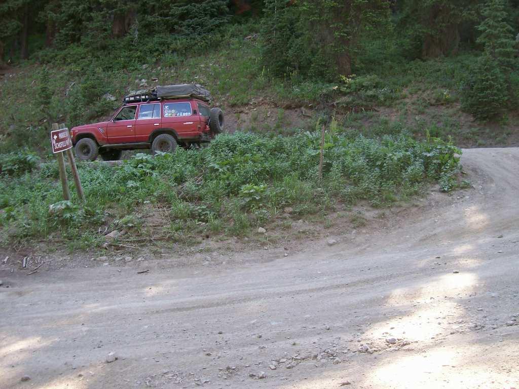 Schofield Pass - Waypoint 1: Trailhead