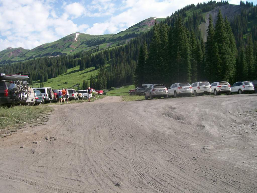 Schofield Pass - Waypoint 2: West Maroon Parking Area