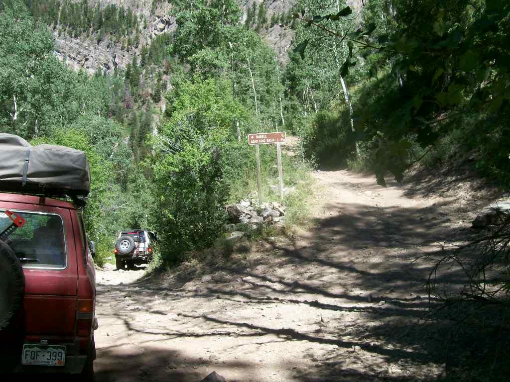 Schofield Pass - Waypoint 7: End