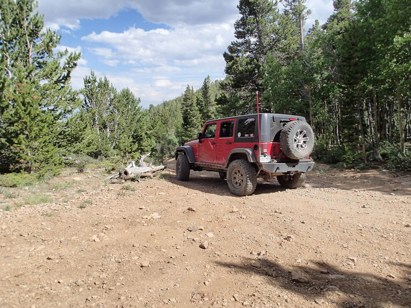 Brown's Pass  - Waypoint 5: Private Road