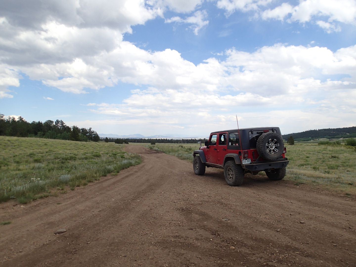 Brown's Pass  - Waypoint 7: Intersection FS Road 179