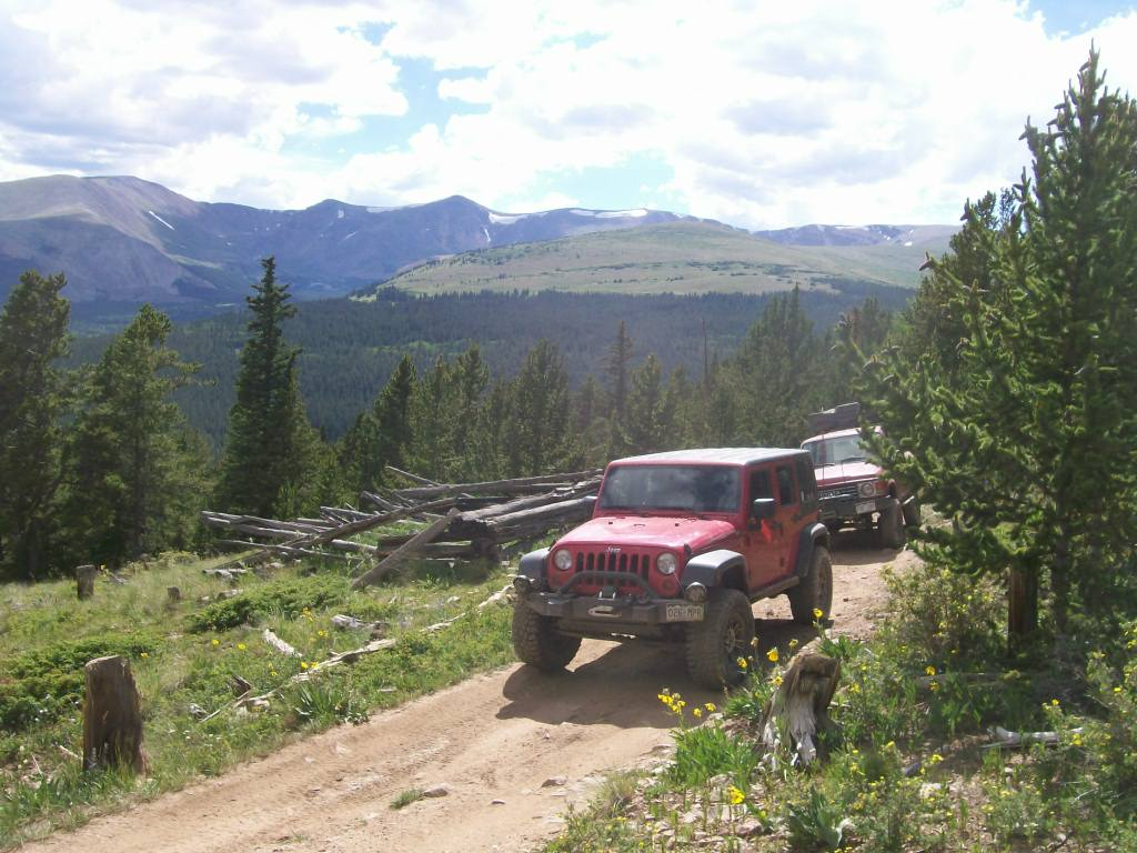 Brown's Pass  - Waypoint 3: Cabins