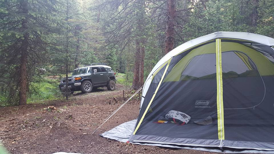 Camping: Middle Fork Swan River
