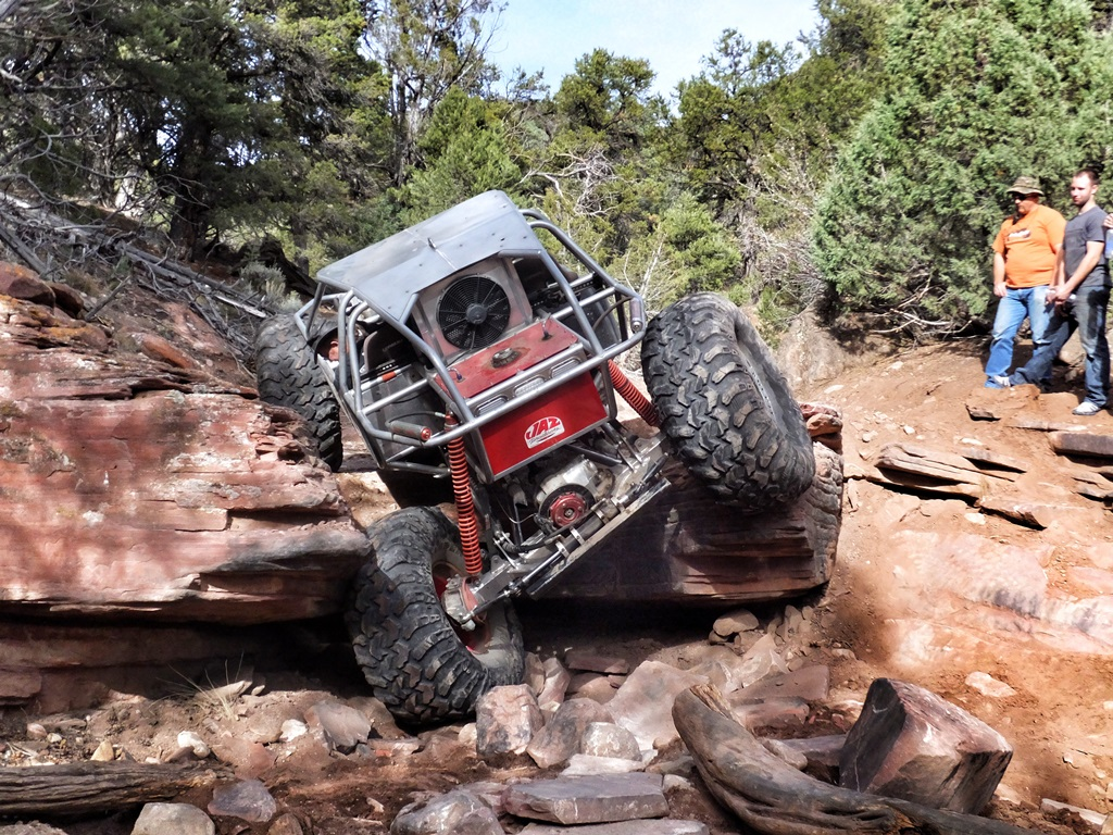 Highlight: Middle Middle Rock Crawling Trail