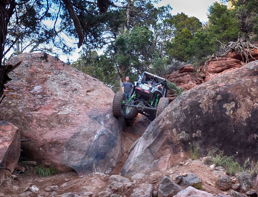 Highlight: Upper Middle - Rock Crawling Trail
