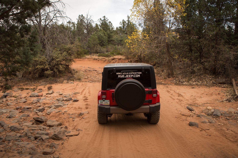 Dry Creek Road - Waypoint 5: Dry Creek Crossing