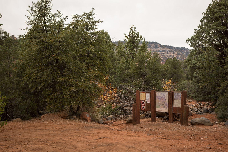 FS152 - Dry Creek Road - Waypoint 14: Secret Canyon Trailhead
