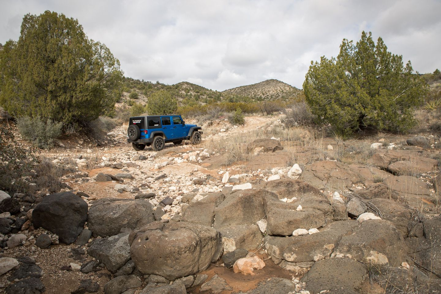 House Mountain Trail - Waypoint 6: Wash Crossing