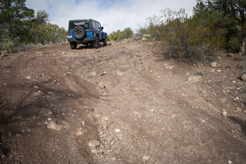 House Mountain Trail - Waypoint 7: Large Rocks
