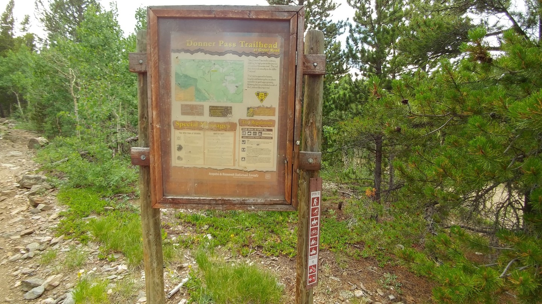 Ballard Road - Waypoint 3: Donner Pass Hiking Trailhead