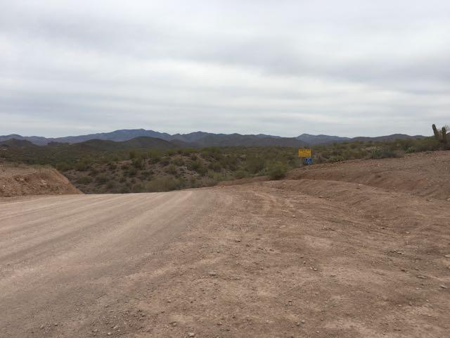 China Dam/Tule Homestead - Waypoint 3: Trail Turn Off