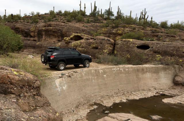 China Dam/Tule Homestead - Waypoint 6: China Dam Parking