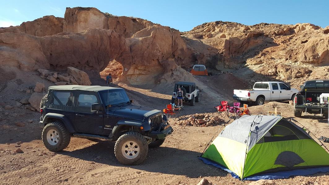 Camping: Odessa Doran Scenic Loop Lower