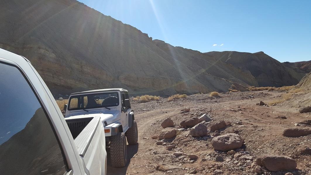 Odessa Doran Scenic Loop Lower - Waypoint 6: Odessa Canyon Hard Trailhead