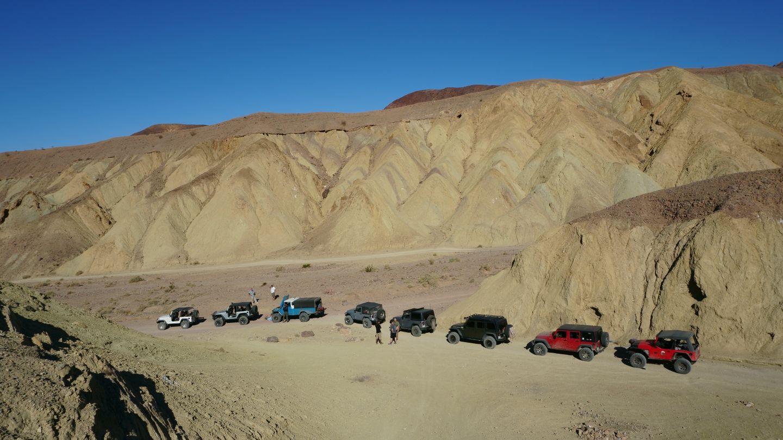 Odessa Doran Scenic Loop Lower - Waypoint 4: Mud Hills Center Route