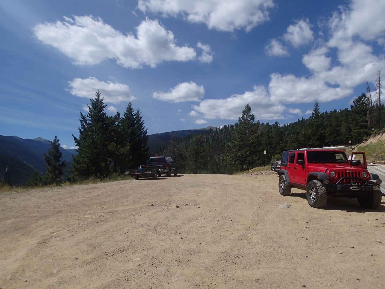 Bill Moore Lake Colorado Offroad Trail