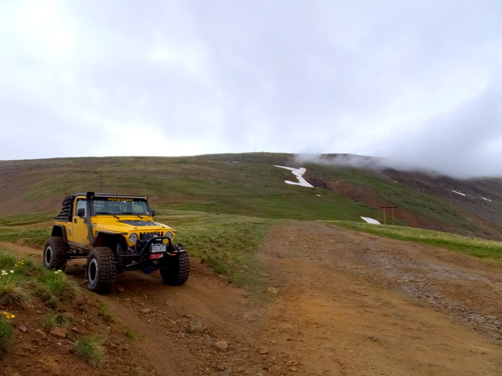 Birdseye Gulch - Waypoint 8: Intersect with Mosquito Pass