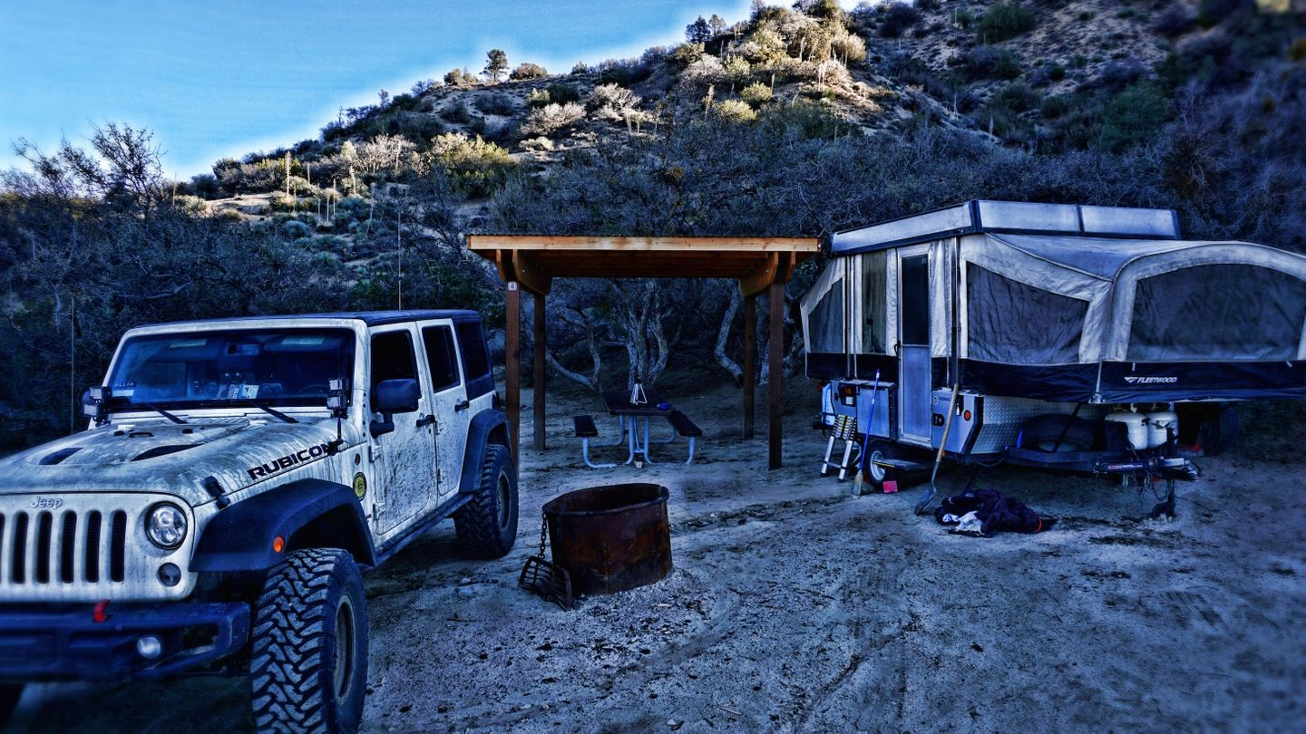 Camping: Hungry Valley SVRA - Pronghorn Trail