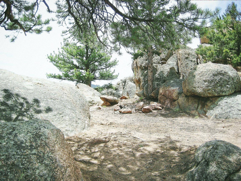 Camping: Fourmile Area: Lenhardy Cutoff
