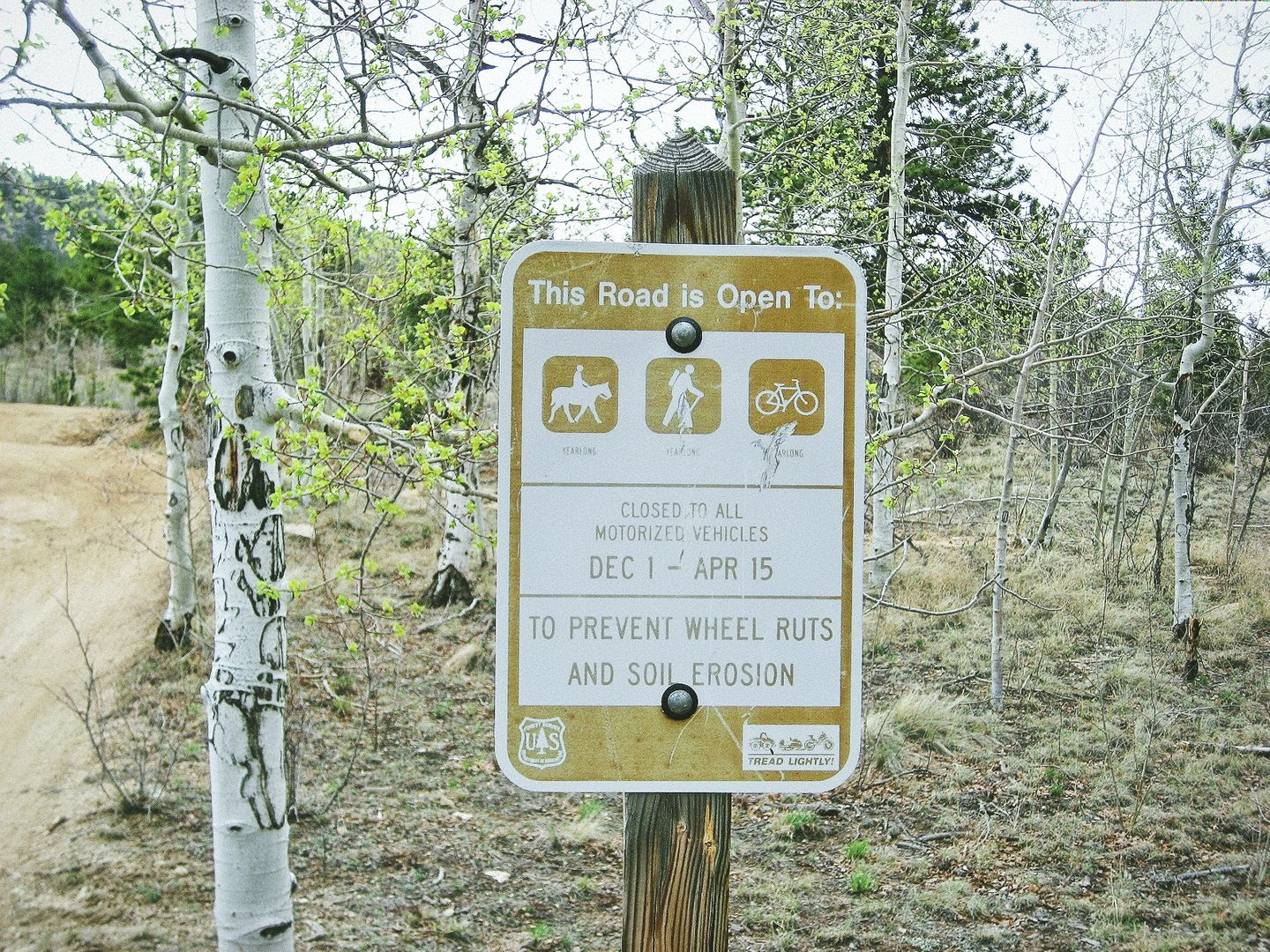 Fourmile Area: Lenhardy Cutoff - Waypoint 8: Seasonal Gate
